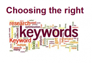 Keywords diagram